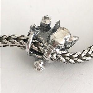 Trollbead Silber Zirkus Elefant